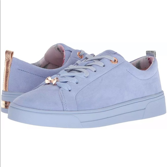93a2c38a1 TED BAKER WOMEN S KELLEIS SUEDE LOW TOP TRAINERS
